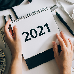 Image of 2021 budget planner.